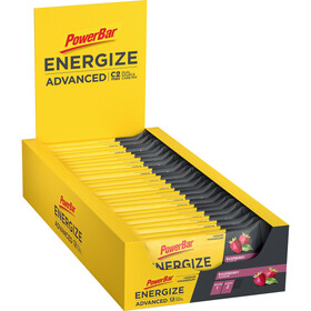 PowerBar Energize Advanced Bar Box 25x55g, Raspberry